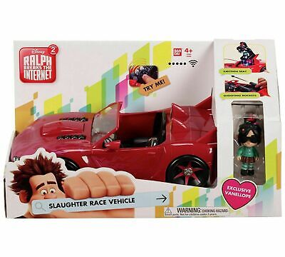 Brand New Wreck-It Ralph Vehicle Car And Vanellope Figure Toy Playset • 15.99£