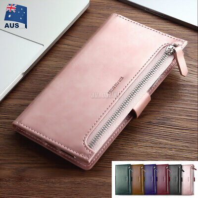 AU10.99 • Buy Zipper Wallet Leather Case Flip Card Holder Magnetic Cover For IPhone XS MAX XR