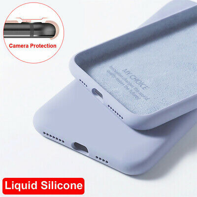 AU1.19 • Buy For OnePlus 7 7T Pro 6 6T 5 5T Liquid Silicone Soft Slim Shockproof Case Cover