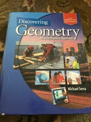 $1.35 • Buy Discovering Geometry : An Investigative Approach - Student Edition + 6 Year...