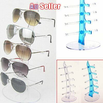 AU13.90 • Buy 5 Pair Rack Show Sunglasses Glasses Display Stand Holder     Plastic Counter