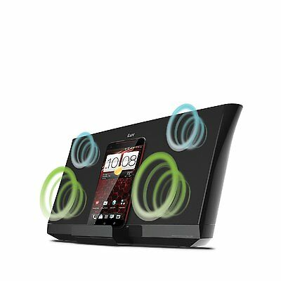 Bluetooth Speakers NFC QI Wireless Charging VERY LOUD BASS STEREO 36W + Remote • 29.99£