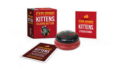 AU17.59 • Buy BOOK NEW Exploding Kittens: Talking Button By Kittens Exploding (2019)