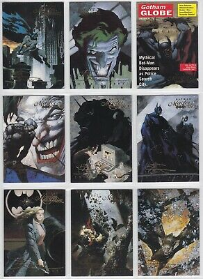 1996 1995 Skybox Batman Master Series Artist's Proof You Pick Finish Your Set • 1.61£