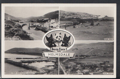 Scotland Postcard - Good Luck From Helmsdale   RS17902 • 2.89£