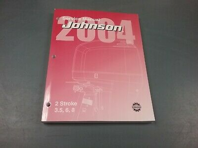 AU51.43 • Buy Service Manual For 3.5, 6 And 8 HP Johnson Outboard Motor 2004