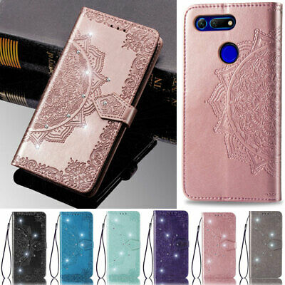 AU13.69 • Buy Diamond Wallet Flip Leather Case Cover For Huawei Y9 Prime 2019 Honor 8S Nova 5T