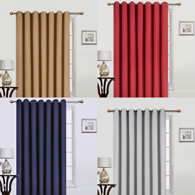 $19.50 • Buy 1 Panel 100  Extra Wide X 84 Long Insulate Thermal Window Curtain Room Divider