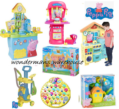 Peppa Pig Kitchen/Toys/Figures/Playsets - Brand New & Boxed • 32.99£