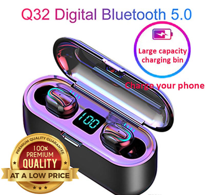 AU35.89 • Buy Bluetooth Wireless Earphones EarBuds Headphones Headset IPhone Samsung Android
