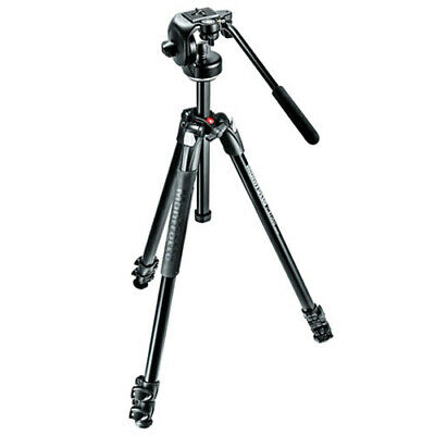 AU298.85 • Buy Manfrotto 290 XTRA Tripod With 2-Way Fluid Head [MANFROTTO WARR]