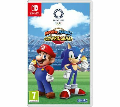 NINTENDO SWITCH Mario & Sonic At The Olympic Games Tokyo 2020 - Currys • 36.99£