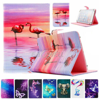 AU17.99 • Buy AU For 7  - Inch Tablet Universal Magnetic Card Holder Leather Stand Case Cover