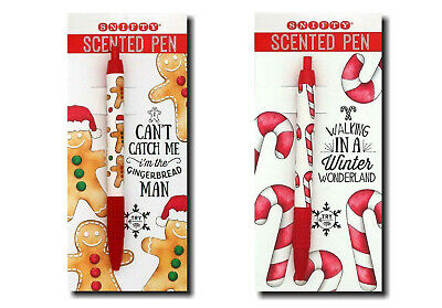 £9.99 • Buy  2 X Snifty Christmas/Xmas Scented Pens - Christmas Tree - Candy Cane