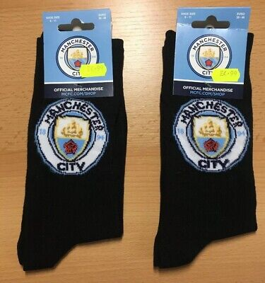£4 • Buy Man City - Brand New Official Manchester City Socks Size 6 - 11 Euro 39-46