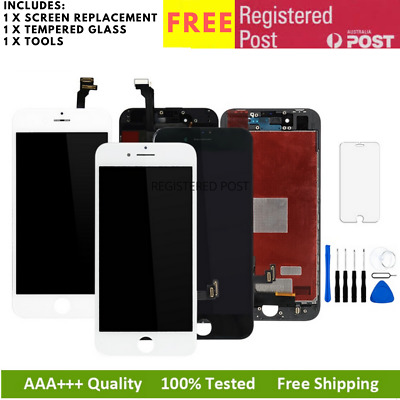 AU22.95 • Buy LCD Screen Replacement Digitizer Assembly IPhone 8 7 Plus 6 6S 5 5s 5C SE 4
