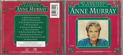 Anne Murray -  My Christmas Favorites  (CD, 1981) Tradition Christmas Songs!!! • 3.97$
