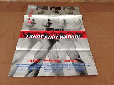 $75 • Buy 1996 I Shot Andy Warhol Original Movie House Full Sheet Poster