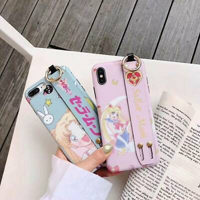 AU7.71 • Buy Sailor Moon Girl Wrist Band Phone Case Cover For IPhone 11 Pro Max XS XR 6 7 8