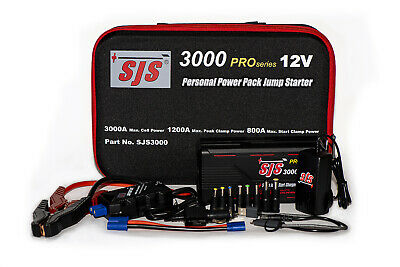 AU445 • Buy Sjs Sjs3000 Pro Personal Power Pack Jump Starter Charger Lithium Power 3000 Amp