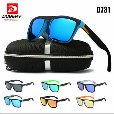 AU15.83 • Buy Mens HD Polarized Sunglasses Style Square UV400 Sports Driving Glasses Outdoor