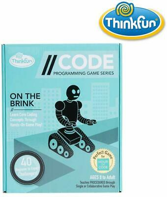 AU36.42 • Buy Code: On The Brink Game Coding Games Learn Programming Concepts