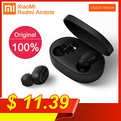 Bluetooth 5.0 Xiaomi Redmi AirDots Wireless TWS Earphone Active Earbud Headsets* • 11.39$