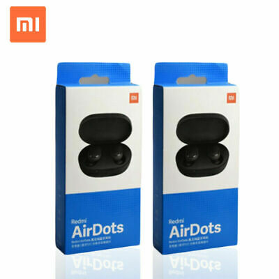 $12.59 • Buy Original NEW XIAOMI Redmi AIRDOTS WIRELESS EARPHONE W/ CHARGER BOX Bluetooth`
