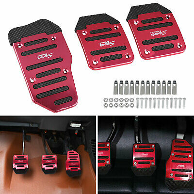 $8.17 • Buy Auto Racing Sports Non-Slip Automatic Car Accessories Gas Brake Pedals Pad Cover