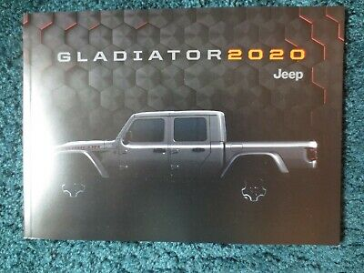 2020 All New Jeep Gladiator Pick Up Truck  Brochure • 5.99$