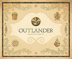 AU57.79 • Buy BOOK NEW Outlander Deluxe Stationery Set By Insight Editions (2017)
