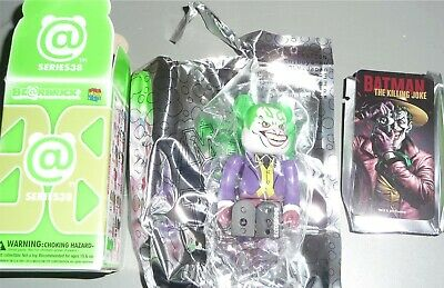 $18.39 • Buy Be@rbrick Series 38 DC Batman Villan Joker 100% Medicom BearBrick Toy LOOSE