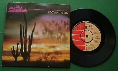 """The Shadows Riders In The Sky / Rust EMI 5027 7"""" Single • 3.75£"""