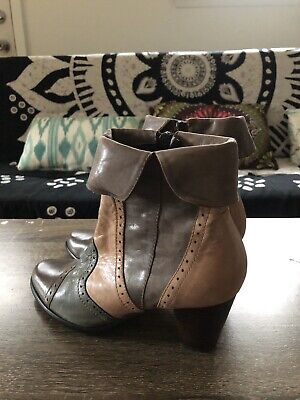 $59.99 • Buy EVERYBODY By BZ.MODA ANKLE LEATHER HILLS BOOTS BOOTIES NEW SIZE US 7