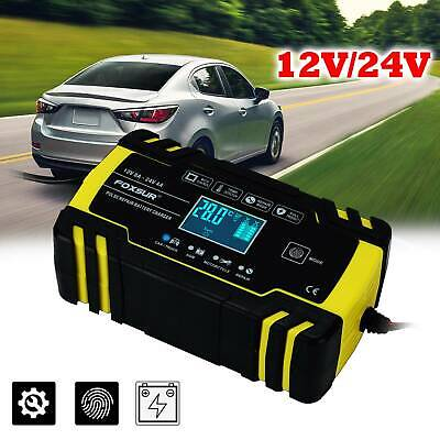 View Details Automatic Intelligent Smart Car Battery Charger Pulse Repair Starter 12V 24V LCD • 21.99£