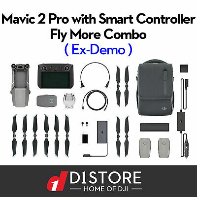 AU3748 • Buy DJI Mavic 2 Pro Drone With Smart Controller And Fly More Combo (Ex Demo)