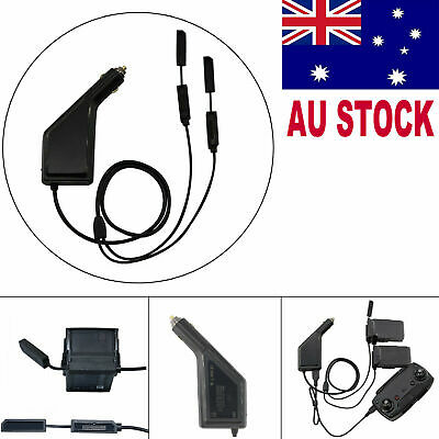 AU28.99 • Buy Remote Controller Multi Battery Car Charger Fast Charging For DJI Mavic Air #AU