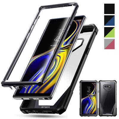 $ CDN12.75 • Buy Poetic Clear Cover For Samsung Galaxy Note 9 Case W/Built-in-Screen Protector