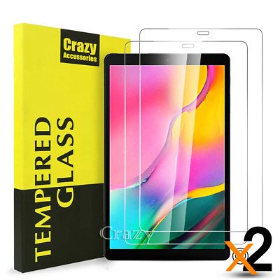 AU10.89 • Buy 2x Tempered Glass Screen Protector For Samsung Galaxy Tab A 10.1  2019 T510 T515