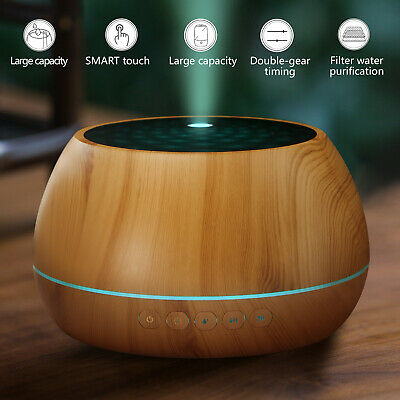 AU33.90 • Buy 100-1000ml Aroma Diffuser Ultrasonic Humidifier Essential Oil Calming Diffuser