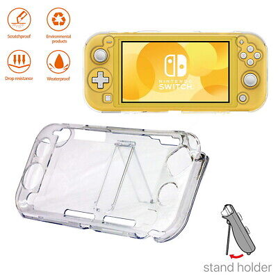$7.99 • Buy Nintendo Switch Lite Clear Shockproof Hard Protective Case Cover Stand Holder