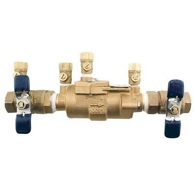 $124.99 • Buy 3/4 In. Bronze Double Check Valve Backflow Preventer Assembly | Febco Fip Water