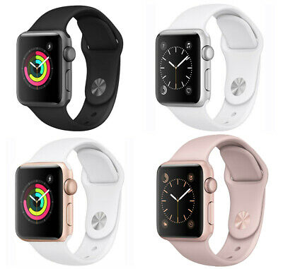 $ CDN184.96 • Buy Apple Watch Series 2 38mm 42mm GPS Aluminum Gold Rose Gold Space Gray Silver