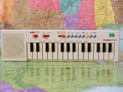$20 • Buy Casio PT-10 Electronic Keyboard WORKS W/ Defect