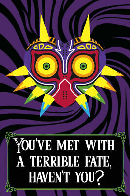 $13.95 • Buy Zelda - Terrible Fate - Blacklight Poster - 23x35 Flocked 2067