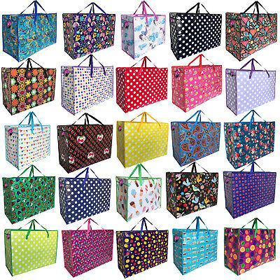 Laundry Storage Bag Extra Large Jumbo Strong Zipped Under Bed Bedding Clothes • 5.99£