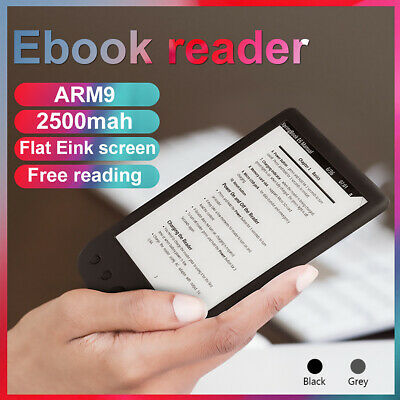 $75.65 • Buy 6 In Handheld E-Ink Display OED E-book Reader 800x600 E-Reader W/Front Light