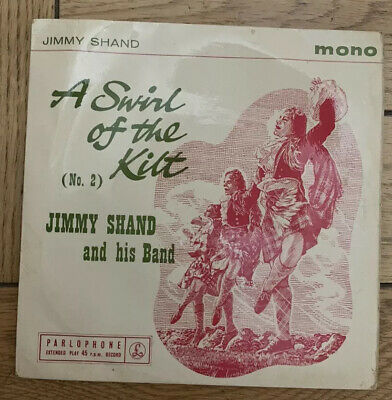 """£1.49 • Buy Jimmy Shand And His Band- A Swirl Of The Kilt (no.2)- 7"""" Vinyl Record"""