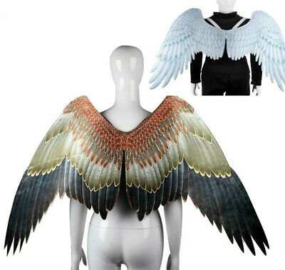 Tengu Bird Eagle Cosplay Wig Prop Anime Cartoon Large Big Wing Stage Party Show • 27£