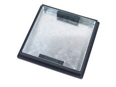 Recessed Manhole Cover With Frame 220 To 300mm Dia X 46mm Sealed And Locked T1G3 • 48£